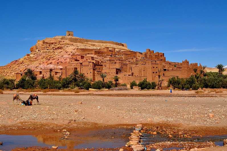 Trip to Ouarzazate and the Kasbah Ait Benhaddou in private